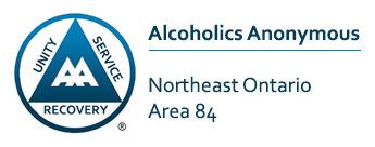 Alcoholics Anonymous Northeast Ontario Area 84